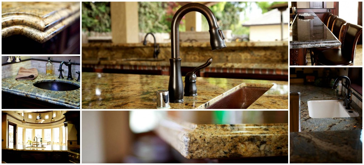Granite, Quartz, and Marble Countertops