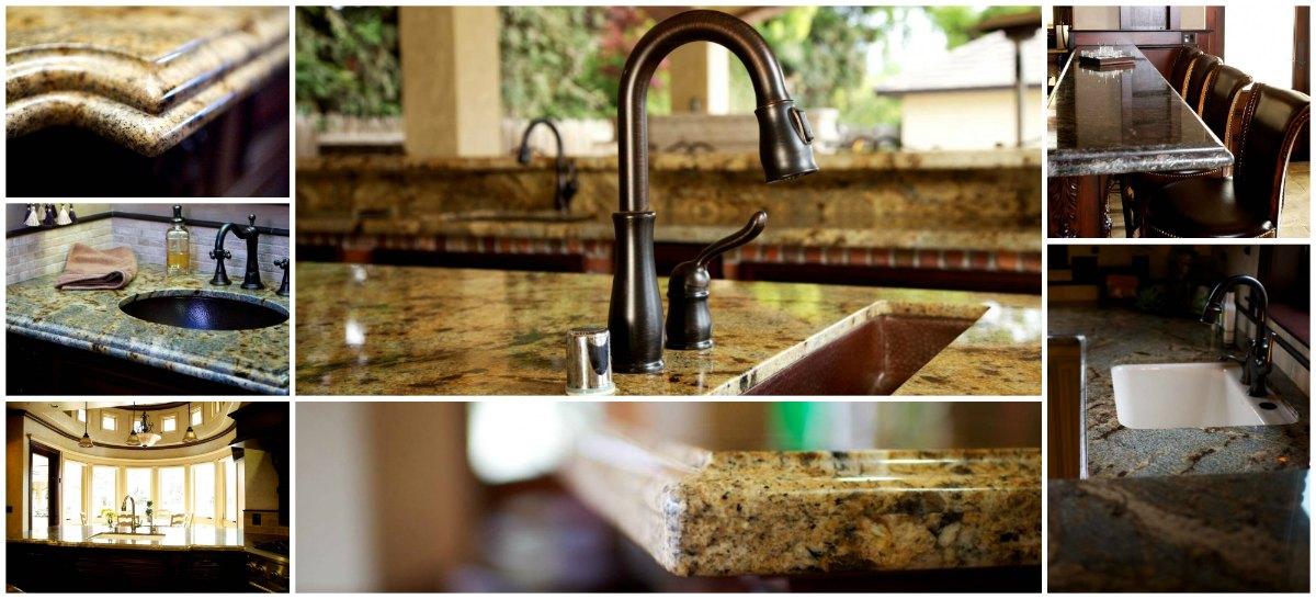 Granite, Quartz, and Marble Countertops